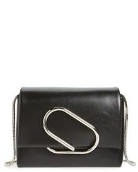 3.1 Phillip Lim Micro Alix Leather Crossbody Bag Black