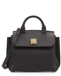 MCM Milla Leather Crossbody Tote Bag