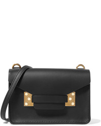 Sophie Hulme Milner Nano Leather Shoulder Bag Black