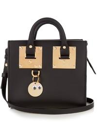 Sophie Hulme Mini Albion Box Leather Cross Body Bag
