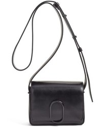 3.1 Phillip Lim Mini Alix Leather Shoulder Bag Black