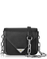 Alexander Wang Mini Prisma Envelope Sling Black Leather Crossbody Bag
