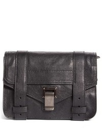 Proenza Schouler Mini Ps1 Lambskin Leather Crossbody Bag Black