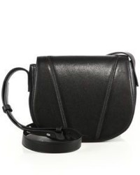 Vince Modern V Small Leather Crossbody Bag