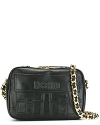 Moschino Embossed Detail Shoulder Bag