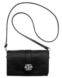 Giani Bernini Nappa Leather Flap Crossbody Only At Macys