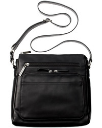 Giani Bernini Nappa Leather Front Zip Crossbody Only At Macys