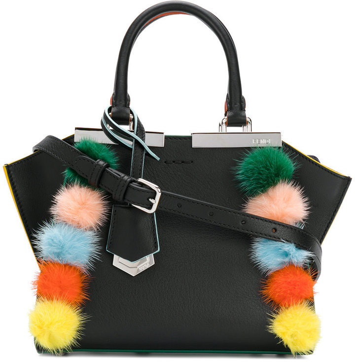 fefc6dde7ea Fendi Pom Pom Mini 3jours Crossbody Bag, $2,550 | farfetch.com ...