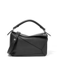 Loewe Puzzle Small Textured Leather Shoulder Bag