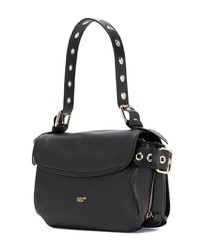 RED Valentino Red Zip Front Shoulder Bag