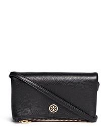 Tory Burch Robinson Leather Foldover Crossbody Bag