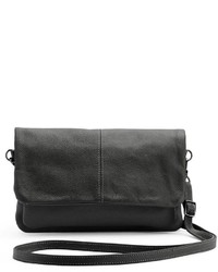 Rr Leather Leather Flap Crossbody Bag