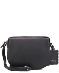 Polo Ralph Lauren Saddle Leather Crossbody Bag