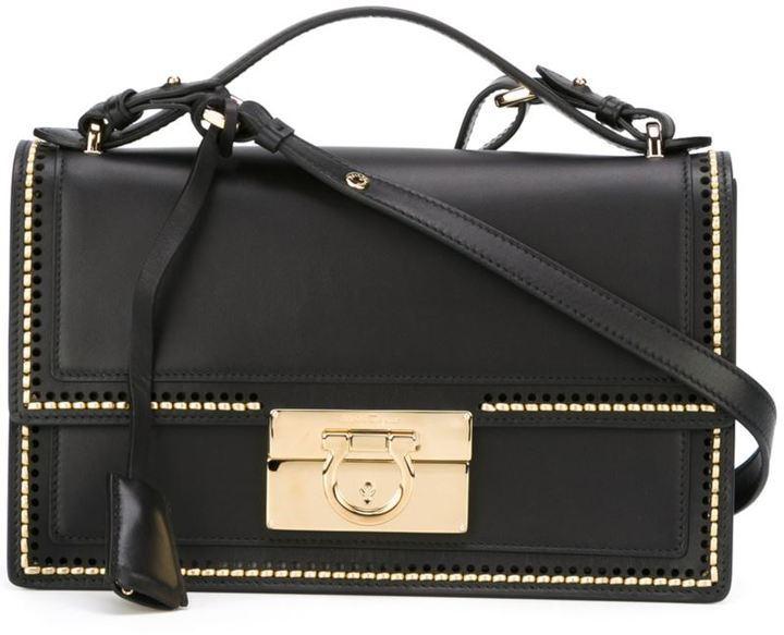 96f1c03758ee ... Leather Crossbody Bags Salvatore Ferragamo Aileen Crossbody Bag