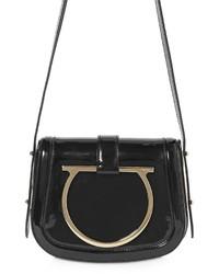 Salvatore Ferragamo Small Sabine Patent Leather Shoulder Bag