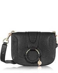 See by Chloe See By Chlo Hana Black Leather Crossbody Bag