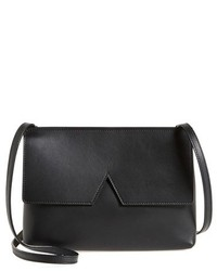 Vince Signature Collection Small Leather Crossbody Bag