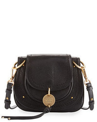 See by Chloe Small Leather Flap Saddle Bag