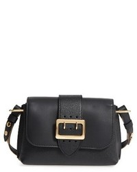 Burberry Small Medley Leather Crossbody Bag Black