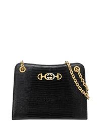 a2c15b89ea43 Women's Black Leather Crossbody Bags by Gucci   Women's Fashion ...