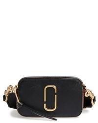 Marc Jacobs Snapshot Leather Crossbody Bag Blue