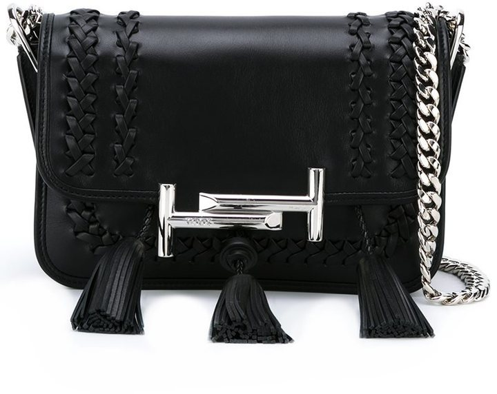 Tod's Tassel Detailed Crossbody Bag