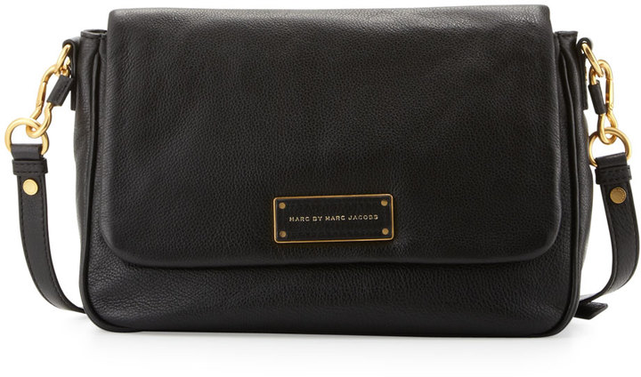 ... Marc by Marc Jacobs Too Hot To Handle Leather Crossbody Bag Black ...