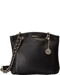 DKNY Tribeca Soft Tumbled North South Crossbody W Adjustable Chain Handle