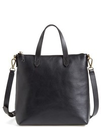 Madewell Mini Transport Leather Crossbody Bag Brown