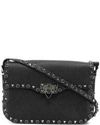 Valentino Rockstud Rolling Shoulder Bag