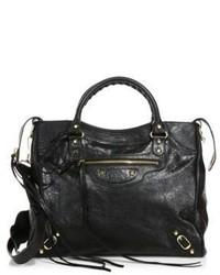 Balenciaga Velo Leather Messenger Bag