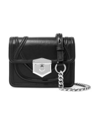 Alexander McQueen Wicca Leather Shoulder Bag