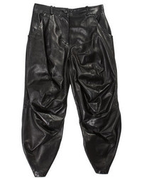 Alexander McQueen Leather Culottes