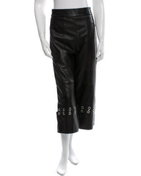 Tibi Leather Wide Leg Culottes W Tags