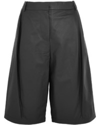 T by pleated leather culottes medium 1159447