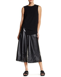 Opening Ceremony Tire Tread Laser Cut Culotte Pant