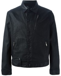 Alexander McQueen Coated Denim Jacket