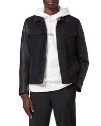 AllSaints Bennett Leather Jacket