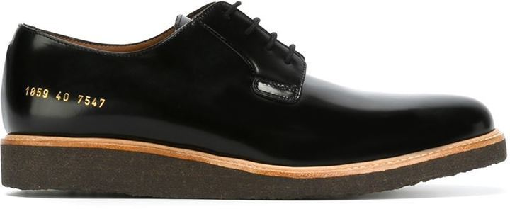 COMMON PROJECTS'1859 Shine' derby shoes CX9rALvK