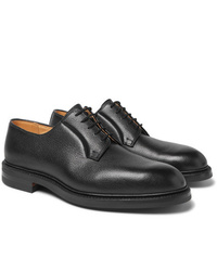 George Cleverley Archie Full Grain Leather Derby Shoes