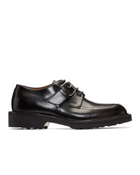 Dries Van Noten Black Derbys