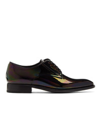 Givenchy Black Iridescent Classic Derbys