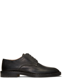 Maison Margiela Black Leather Convertible Derbys