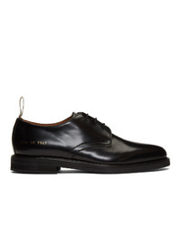 Common Projects Black Standard Lace Up Derbys