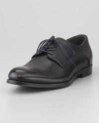 Hugo Boss Boss Shiny Pebbled Derby Shoe