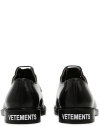 Vetements Churchs Patent Leather Derby Shoes
