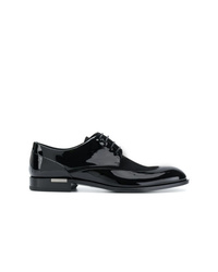 Versace Classic Varnished Derby Shoes