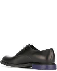 Fendi Contrast Heel Derby Shoe