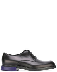 Fendi Contrast Heel Derby Shoe