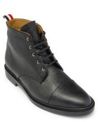 Thom Browne Derby Lace Up Captoe Boots